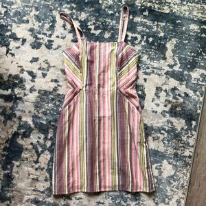 Express Multi-Colored Striped dress, worn once